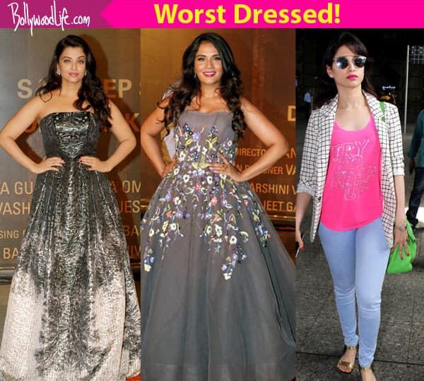 Aishwarya Rai Bachchan, Radhika Apte, Mallika Sherawat – 5 celebs whose style game FAILED to impress us!
