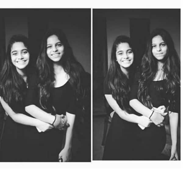 suhana with friend