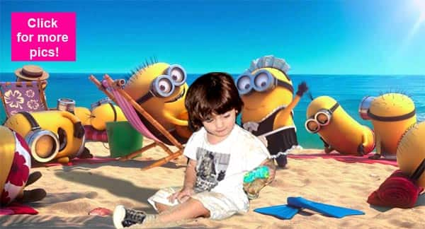 BollywoodLife makes AbRam Khan chill with the Minions and it's super cool – view pics!
