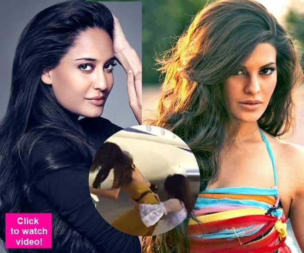 Lisa Haydon and Jacqueline Fernandez competing for Salman Khan's Kick 2, says Akshay Kumar – watch video!