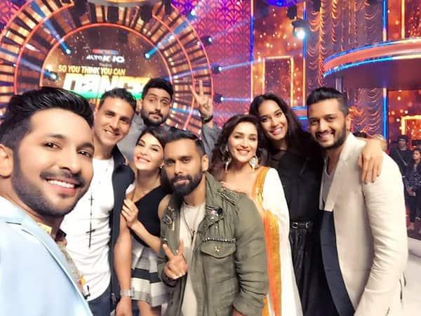 So You Think You Can Dance 2016: Lisa Haydon does a POLE DANCE on Abhishek Bachchan as Akshay Kumar & co make merry on the show!