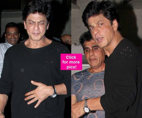 Shah Rukh Khan enjoys a night out with close friend, Karim Morani – view pics!