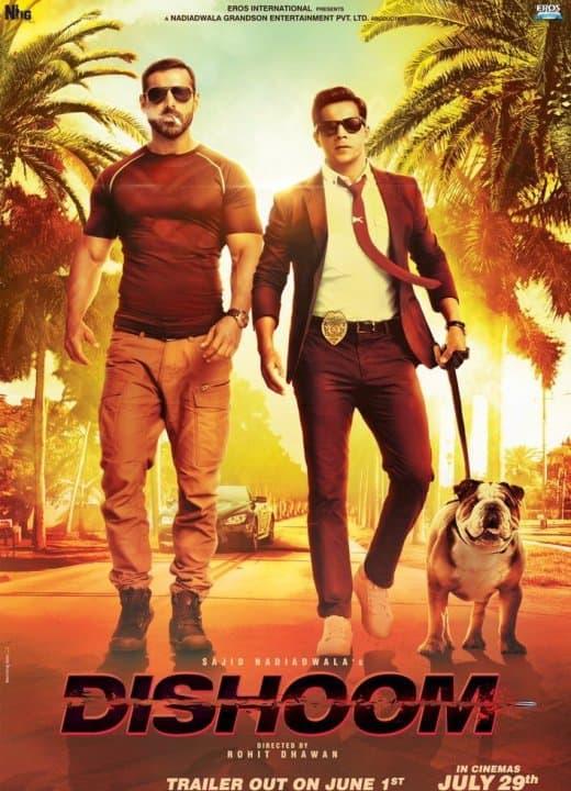 Varun Dhawan and John Abraham's look in the Dishoom Poster