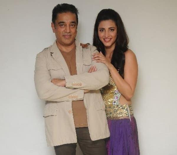 Shruti Haasan joins Kamal Haasan in US for Sabash Naidu shoot!
