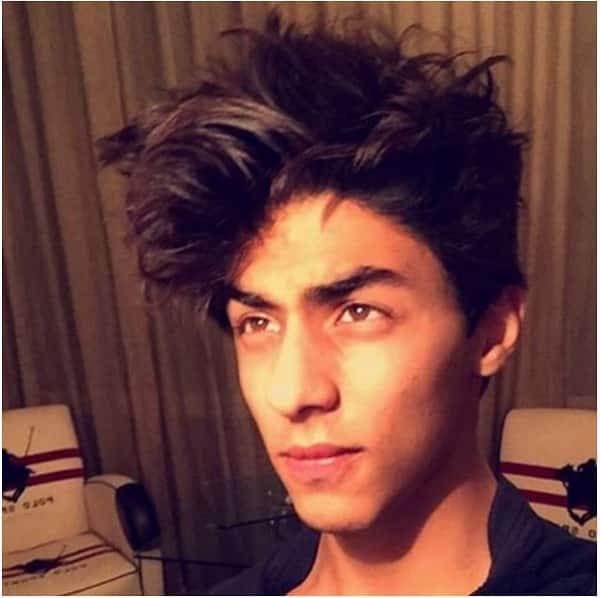 aryan khan morning selfie