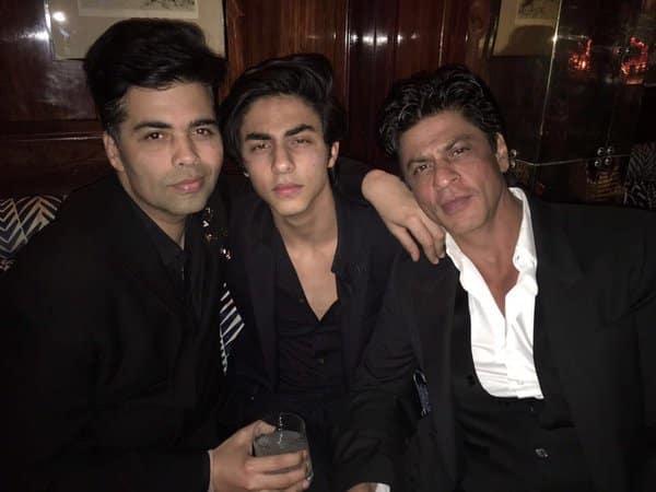 Karan chills with Aryan and SRK