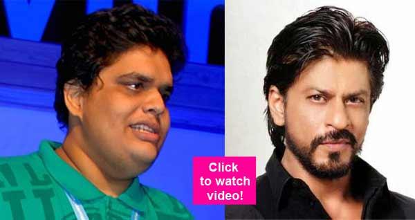 Shah Rukh Khan keeps MUM over Tanmay Bhat's spoof on Lata Mangeshkar and Sachin Tendulkar – watch video!
