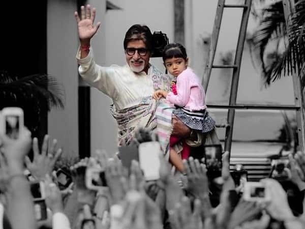Amitabh Bachchan: Aaradhya sings to me!