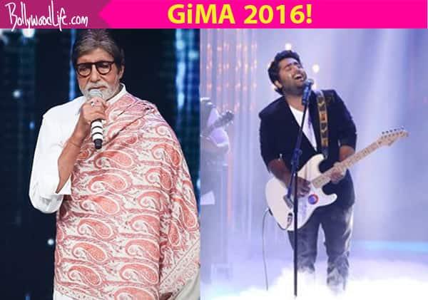 GiMA 2016: Arijit Singh, Shreya Ghoshal, Amitabh Bachchan take home trophies!