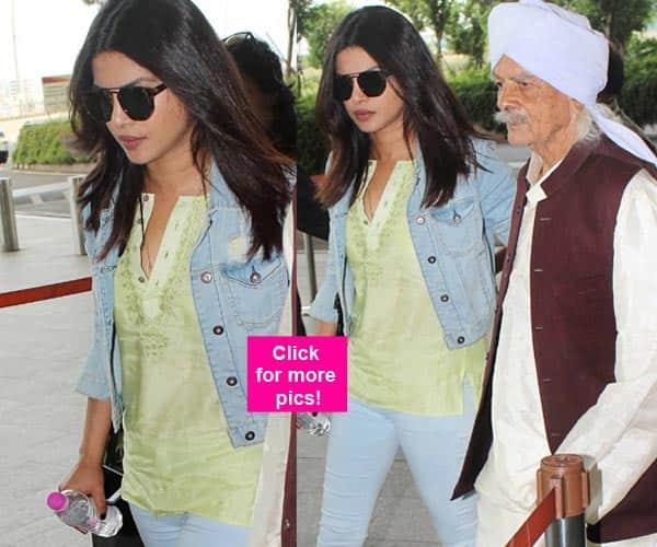 Priyanka Chopra spotted at Mumbai airport post grandmother's funeral – view HQ pics!