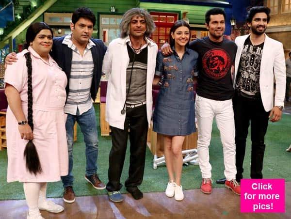 Randeep Hooda and Kajal Aggarwal have a whale of a time on The Kapil Sharma Show – view HQ pics!