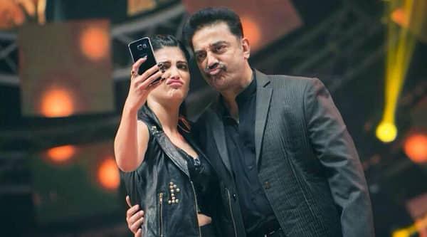 Shruti Haasan had a FANTASTIC first day of shooting with father Kamal Haasan