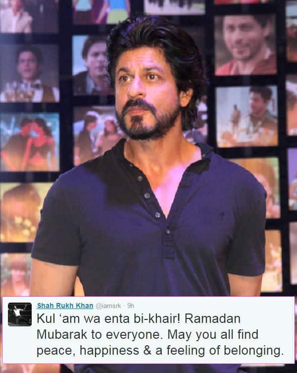 Shah Rukh Khan's wish for Ramadan will make you give him a bear hug!