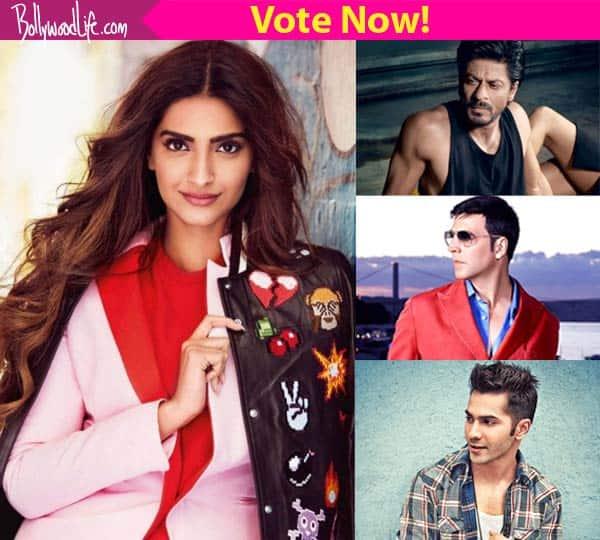 Shah Rukh Khan, Akshay Kumar or Varun Dhawan – who will look BEST opposite Sonam Kapoor?