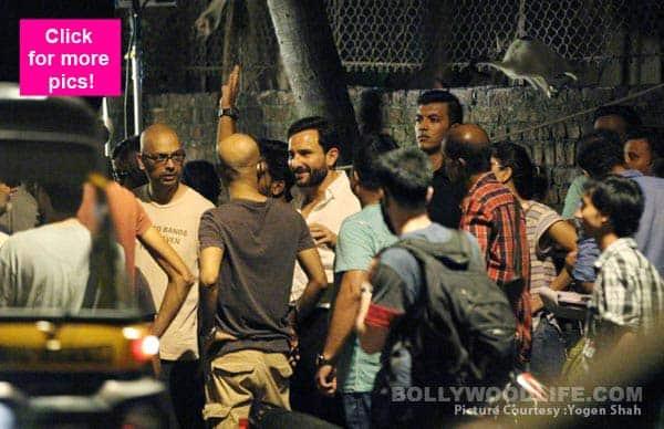 Has Saif Ali Khan started shooting for Kala Kaanti? View HQ pics!