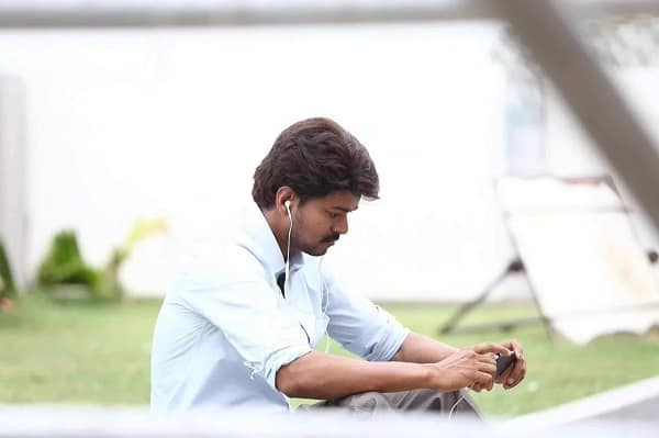 Is this Vijay's look for his next film with director Bharathan?
