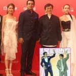 Jackie Chan dances on a Punjabi track at Kung Fu Yoga's premiere and it's shockingly impressive – watch video!