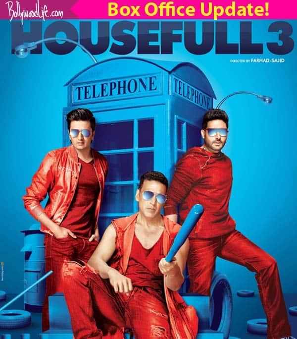 Housefull 3 box office collection: Akshay Kumar, Abhishek Bachchan, Riteish Deshmukh's film to enter the Rs 100 croreclub!