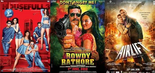 Housefull 3, Airlift, Rowdy Rathore – 5 films of Akshay Kumar that entered the 100 croreclub
