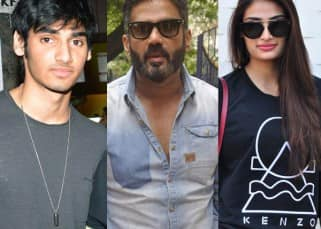 Sunil Shetty talks about children Athiya and Ahaan's rigorous martial arts training!