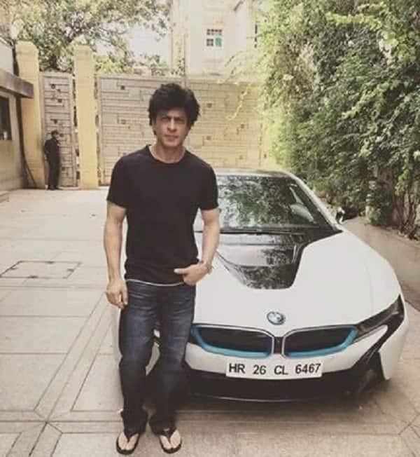 Shah Rukh Khan goes on a joyride in his brand new luxury car – watch video!