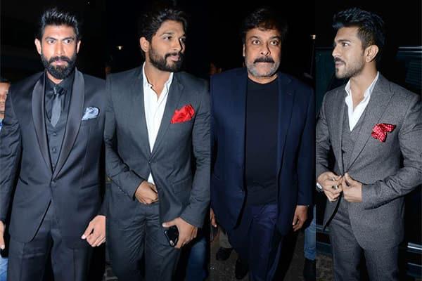 Filmfare Awards South 2016: Chiranjeevi, Rana Daggubati, Allu Arjun, Ram Charan slay it with style – view HQ pics!