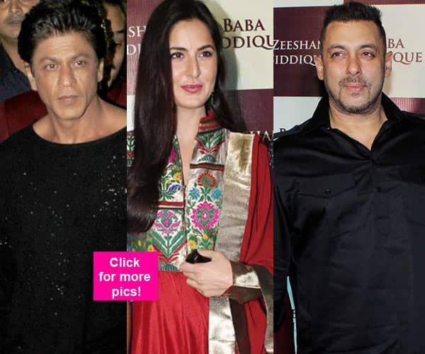 Shah Rukh Khan, Katrina Kaif, Salman Khan ROCK the night at Baba Siddique's Iftar bash – view HQ pics!
