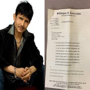Finally! Someone in Bollywood slaps a defamation case against Kamaal R Khan