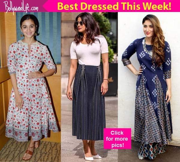 Alia Bhatt, Priyanka Chopra, Kareena Kapoor Khan taught us some UBER COOL style cues to follow thisweek!