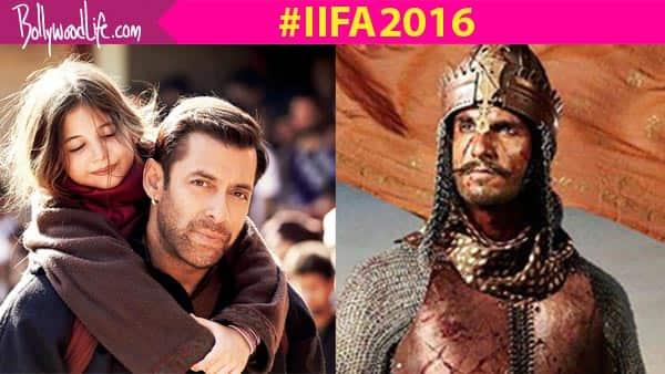 17th IIFA Awards Nominations 2016: Salman Khan's Bajrangi Bhaijaan and Ranveer Singh – Deepika Padukone's Bajirao Mastani lead therace