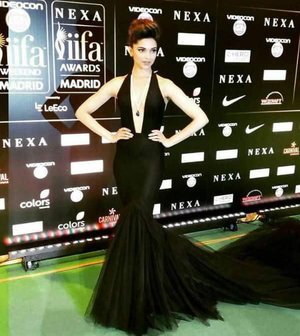 IIFA Rocks 2016 green carpet: Sexy in black Deepika Padukone looks nothing short of a SHOWSTOPPER – viewpic!