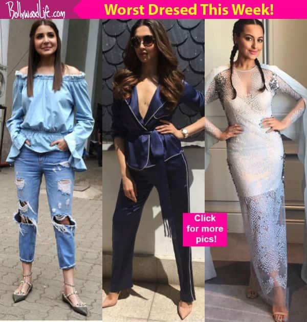 Deepika Padukone, Anushka Sharma, Sonakshi Sinha wore some ...