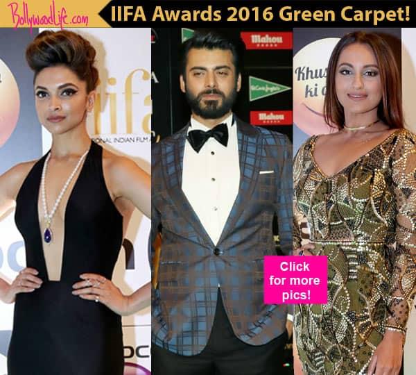 IIFA Rocks 2016: Sonakshi Sinha, Deepika Padukone, Fawad Khan DAZZLE at the green carpet – view HQpics!