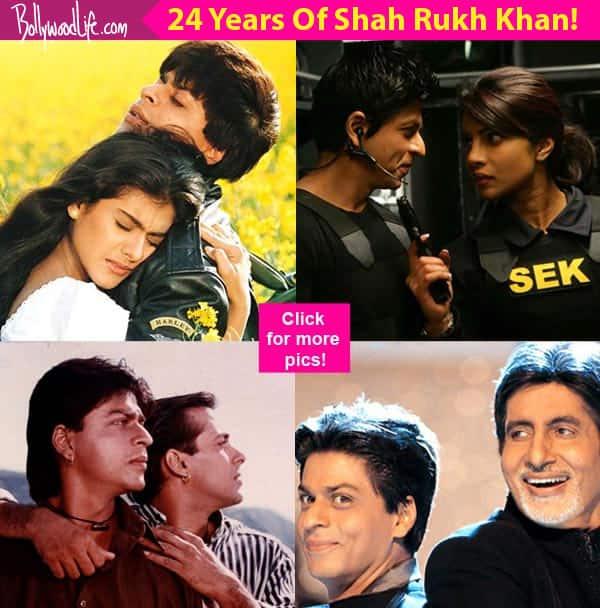 24 years of Shah Rukh Khan: Kajol, Deepika Padukone, Priyanka Chopra – listing 24 of King Khan's bestco-stars!