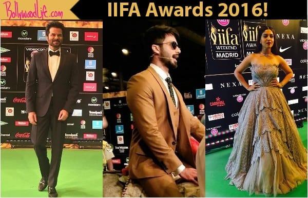 IIFA Awards 2016: Shahid Kapoor, Anil Kapoor, Mouni Roy arrive early at the greencarpet!