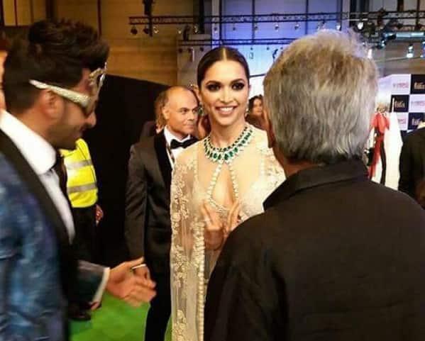 Just in! Deepika Padukone finally REUNITES with Ranveer Singh at IIFA Awards 2016 – view pic!