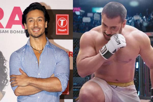 Tiger Shroff just can't contain his excitement for Salman Khan's Sultan- Here'swhy?