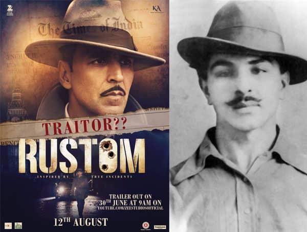 Rustom new poster: Akshay Kumar's look will remind you of BhagatSingh!