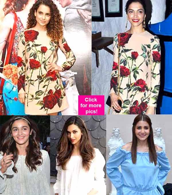 5 times Kangana Ranaut, Alia Bhatt, Priyanka Chopra BEAT Deepika Padukone with their style game