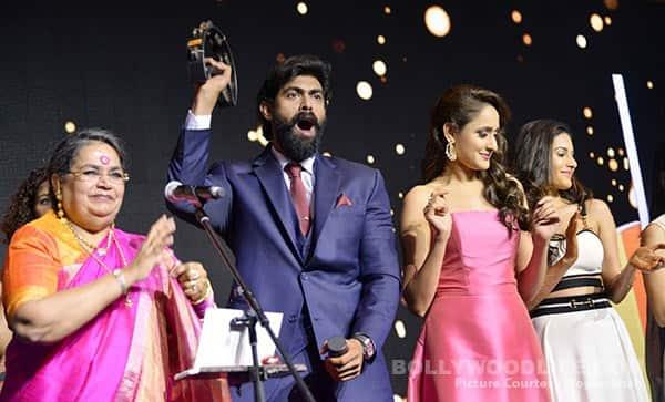 Rana, Sudheer, Vedhika, Lakshmi dazzle at the prestigious South Indian Business Achievers Awards 2016!