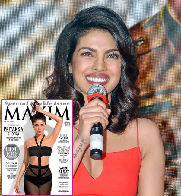 Priyanka Chopra shuts down the arm pit debate with SASS- watchvideo!