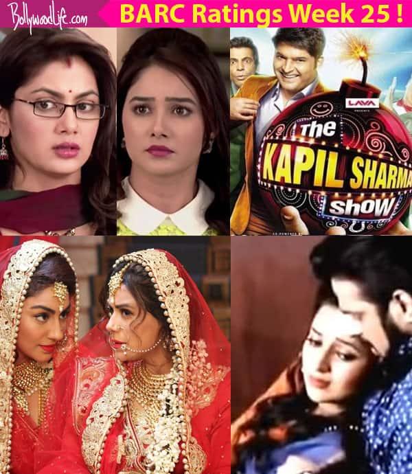 BARC Ratings Week 25: Yeh Hai Mohabbatein, Kasam, Saath Nibhaana Saathiya are the top shows