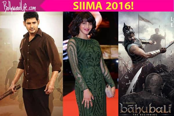 SIIMA Awards 2016: Mahesh Babu, Allu Arjun, Shruti Haasan, Baahubali bag major awards on Day 1!