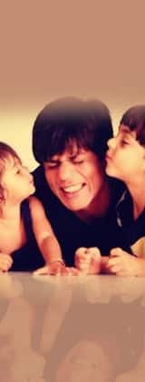 This video of Shah Rukh Khan making Aryan and Suhana dance on Dard-e-disco is ridiculously cute!