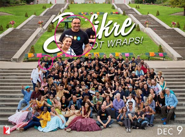 WOAH! Rani Mukerji and Aditya Chopra pose together for the FIRST time in the Befikre wrap uppic!