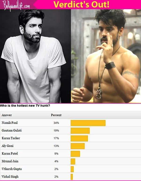 Ek Duje Ke Vaaste's Namik Paul and Gautam Gulati voted as TV's hottest new age hunks!