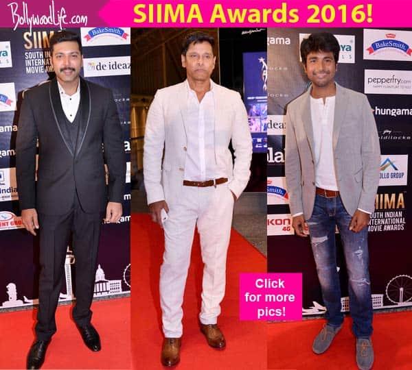 SIIMA Awards 2016: Vikram, Sivakarthikeyan, Jayam Ravi turn up the heat at the red carpet!