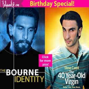 If Ranveer Singh was cast in Fight Club, The Wolf of Wall Street, Bourne Identity, how would the posters look like!