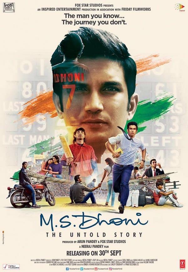 MS DHONI (2016) con Sushant Singh Rajput + Jukebox + Sub. Español + Online 750389