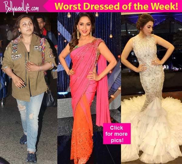 Rani Mukerji, Hansika Motwani, Madhuri Dixit – meet the 5 celebs who scored very LOW on our style meter this week!